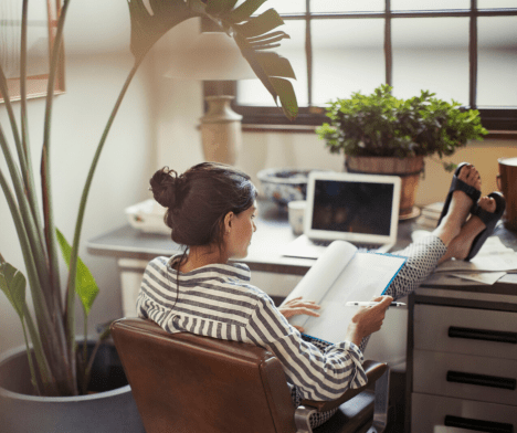Working From Home- 5 Ways To Stay Productive