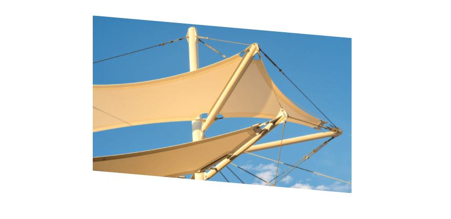 community recycle shade sail