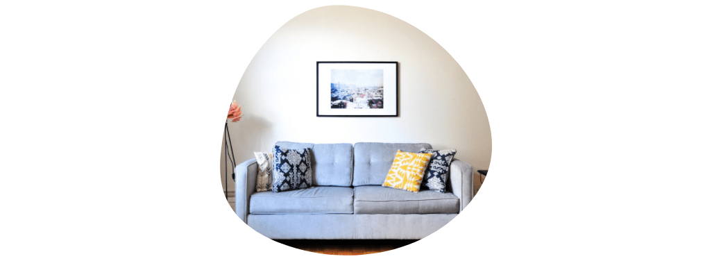 preloved furniture - couch