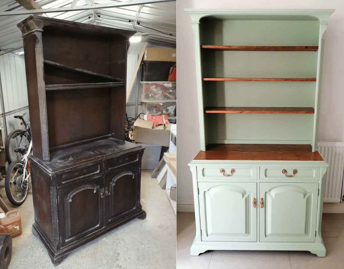 How To Upcycle A Welsh Dresser