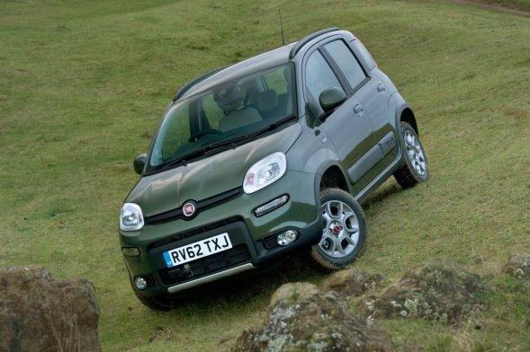 Best Cars For Winter - Fiat Panda 4x4