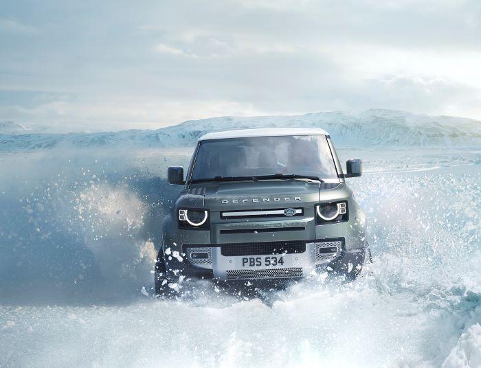 Best Cars For Winter - Land Rover Defender
