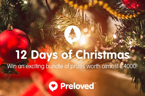 Preloved's HUGE Christmas Giveaway: An Exclusive Look