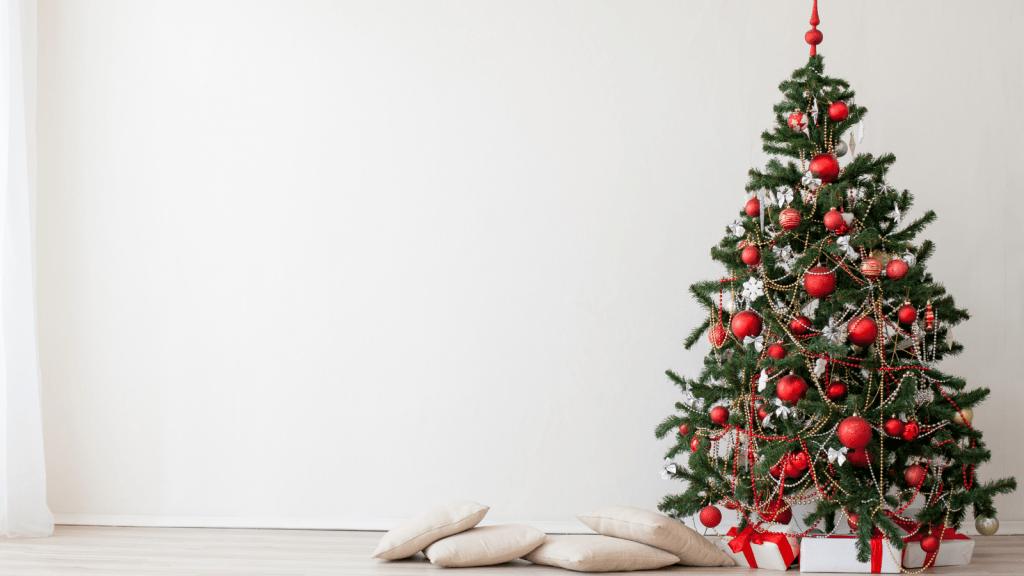 extra festive christmas tree