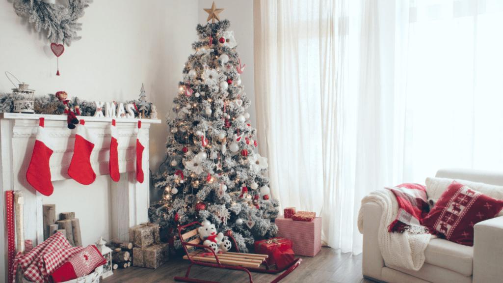 extra festive home