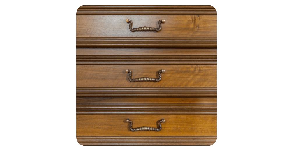 buying antique furniture - set of drawers