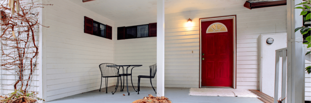 Renovating Your Home During Lockdown - Porch area