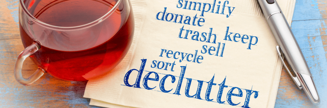 declutter your house this january