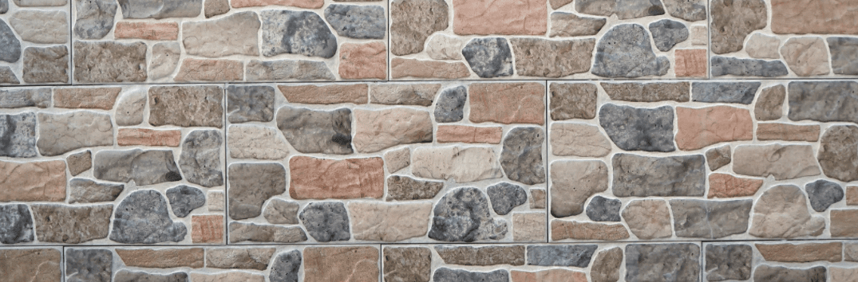 faux stone wallpapaper