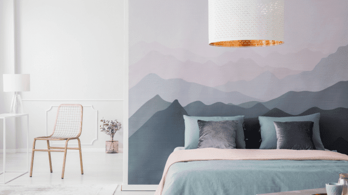 How To Hide A Bad Wall Without A Paintbrush