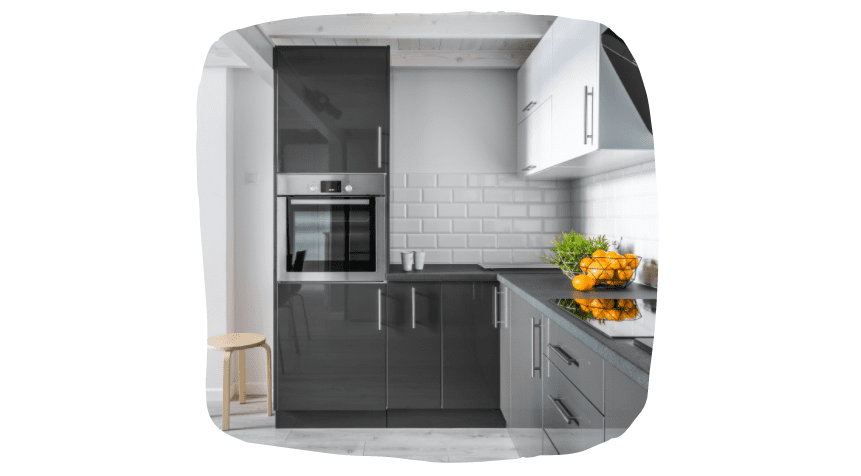 kitchens, the triangle rule