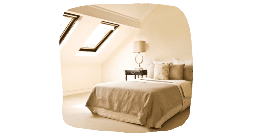 space-saving ideas for your bedroom - loft conversion