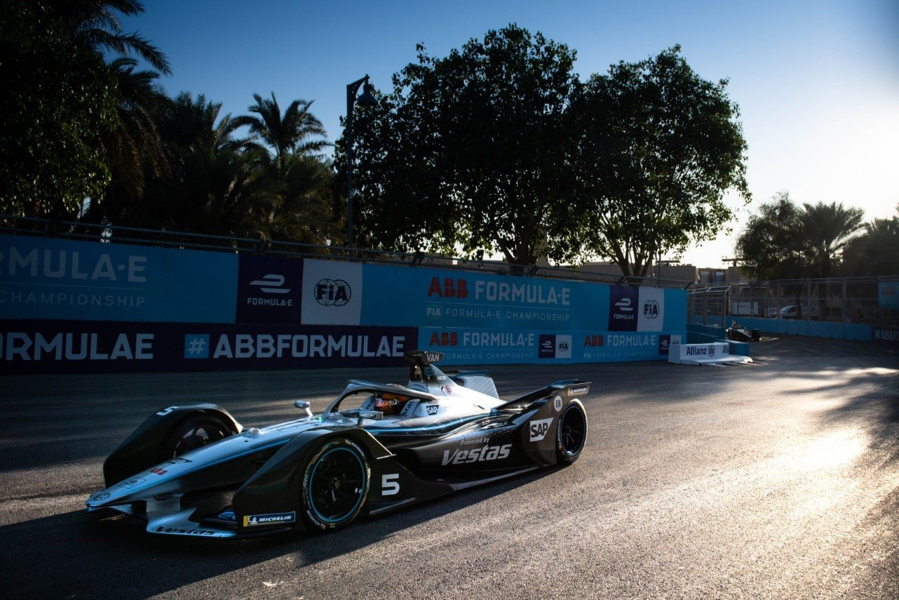 The Diriyah ePrix was the first Formula E track based in the Middle East
