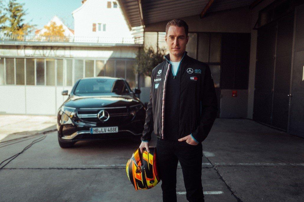 Stoffel Vandoorne, one of the Mercedes-Benz EQ Formula E team drivers