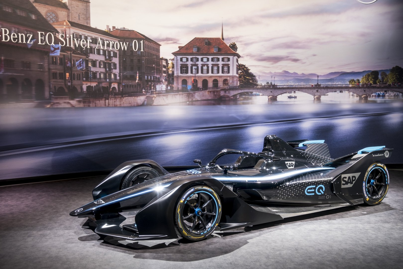 The Mercedes‐Benz EQ Silver Arrow 01