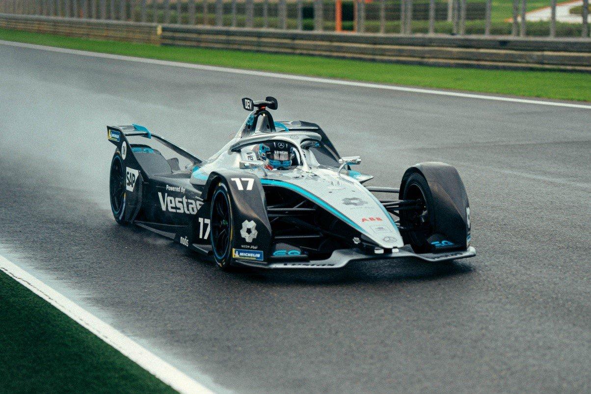 The Mercedes‐Benz EQ Silver Arrow 02