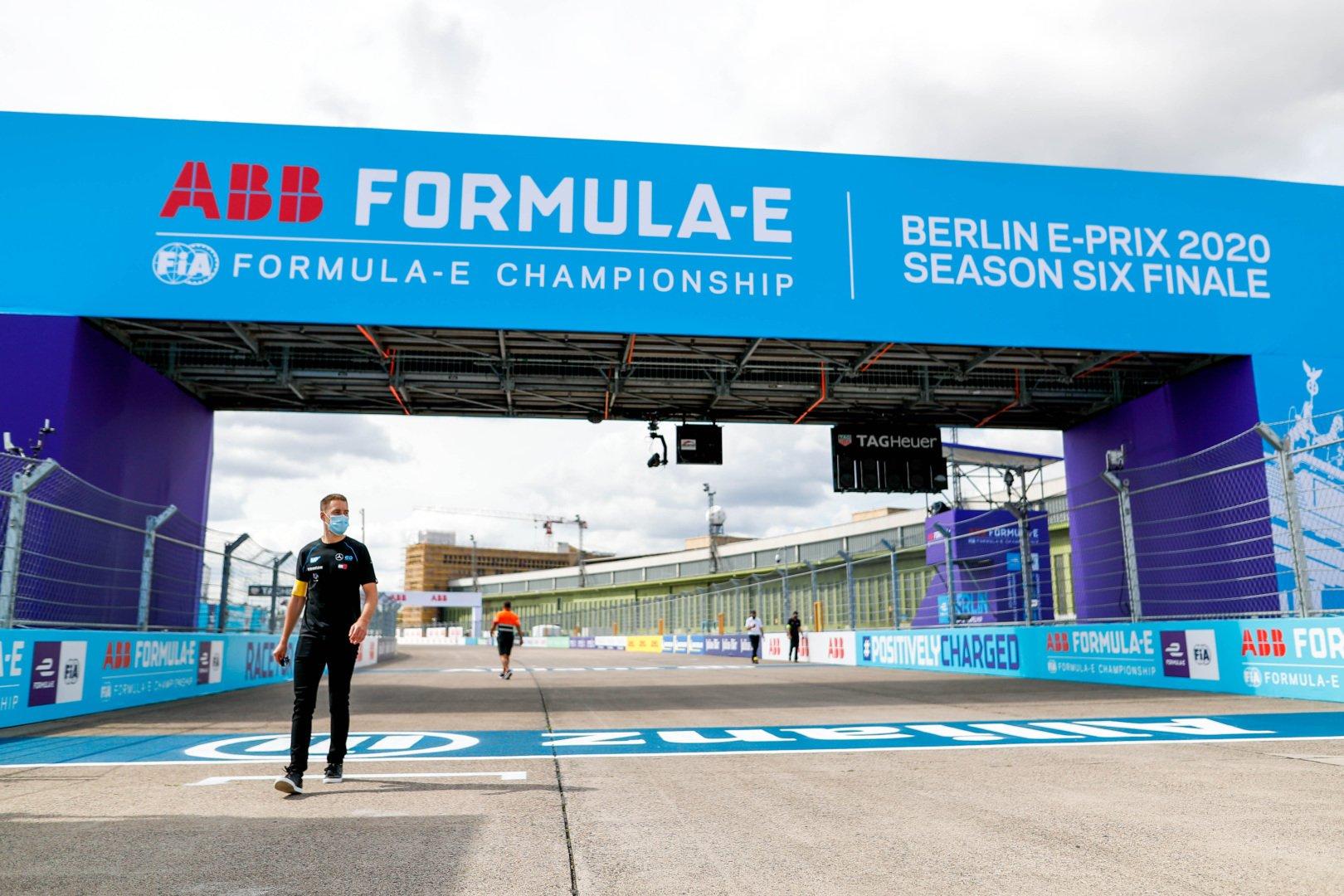 The Berlin ePrix track