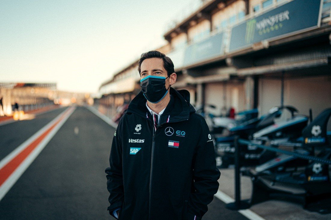 Ian James, Mercedes‐Benz EQ Formula E Team Principal