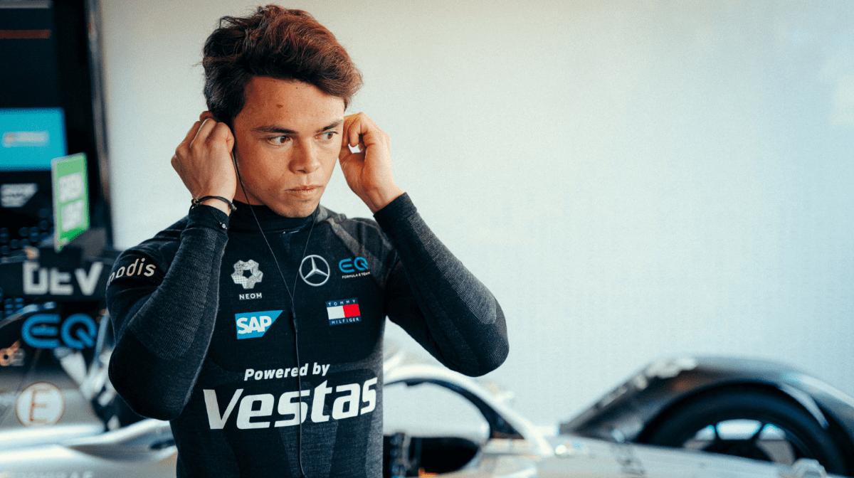 Mercedes-EQ Formula E Driver Nyck de Vries Talks Race Strategy