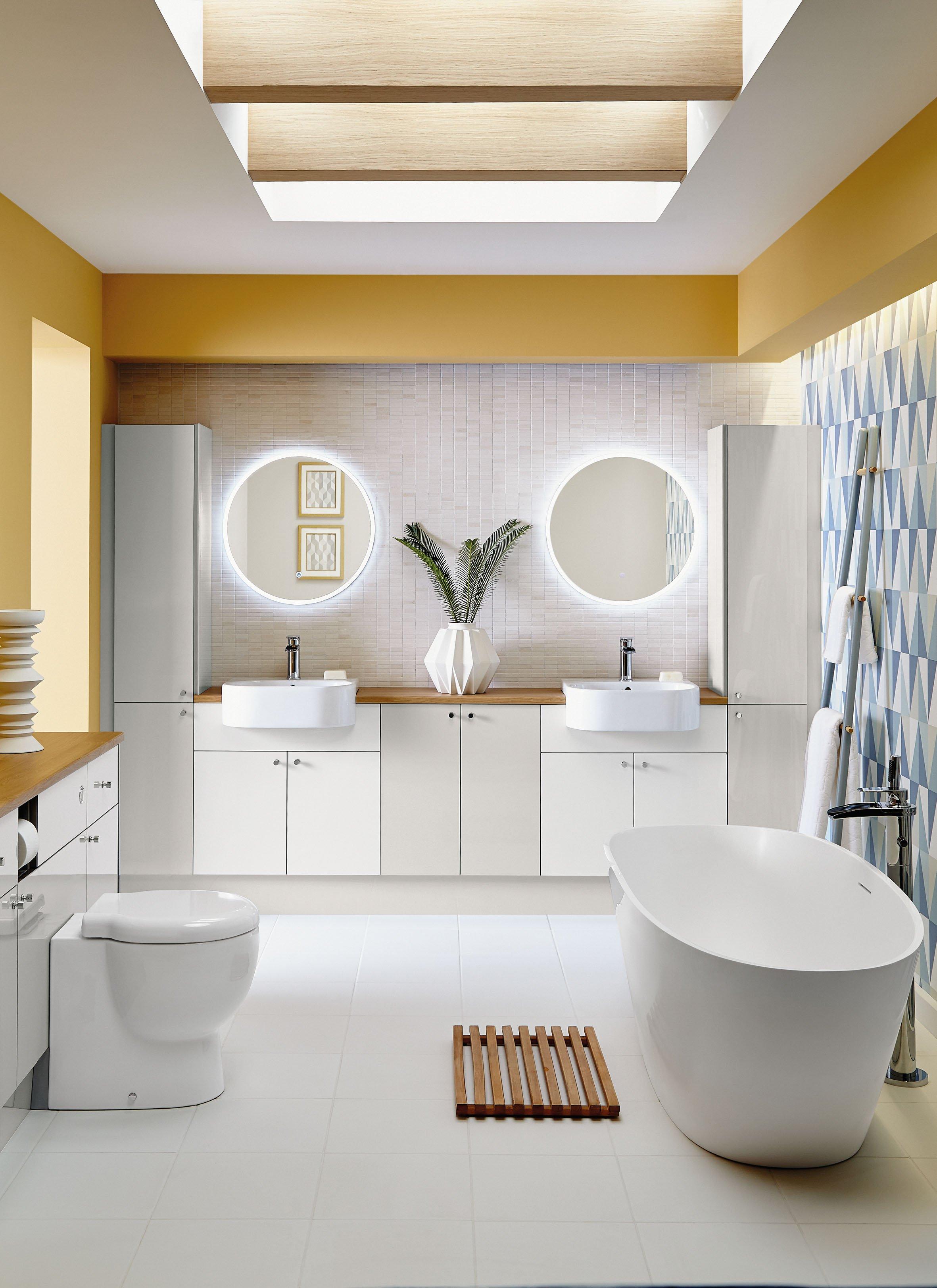 Colour Schemes: Design Ideas for a Yellow Bathroom
