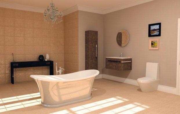 Inspiration and Design Ideas for a Georgian-Style Bathroom