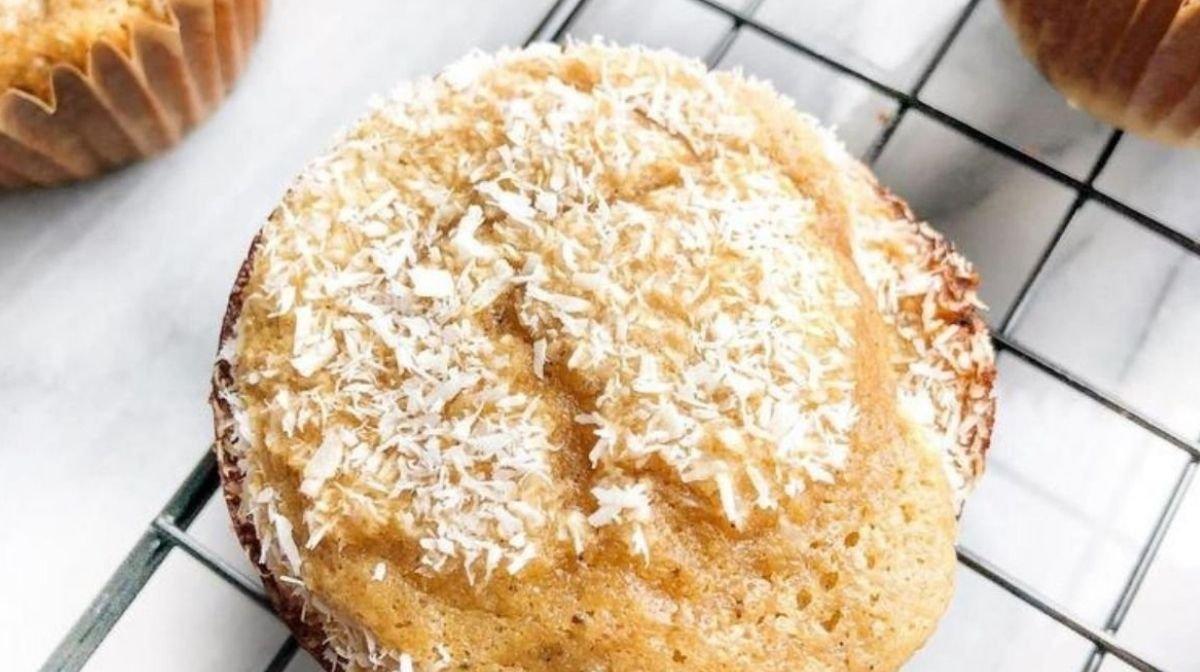 Ajoutez ces muffins à la noix de coco à votre liste d'idées pâtisseries