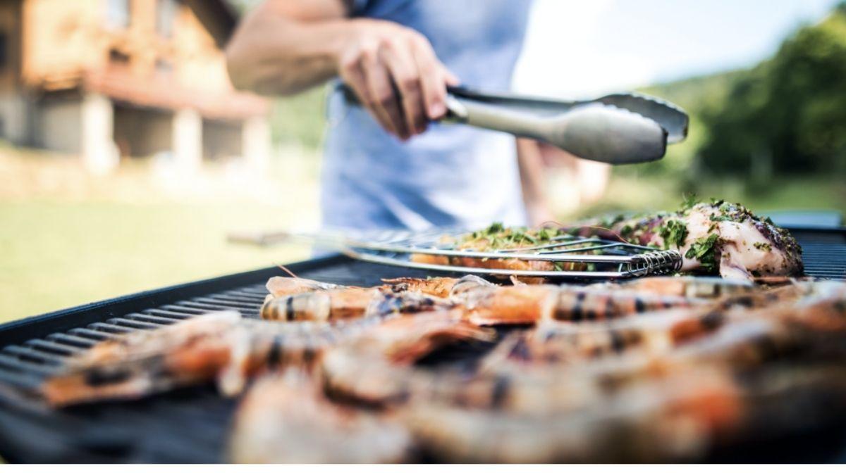 aliments à cuire au barbecue