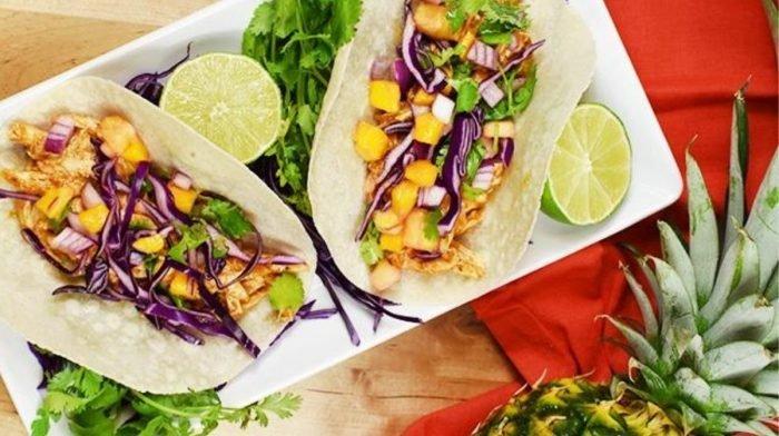 Tacos au poulet sauce hawaïenne: une recette riche en collagène