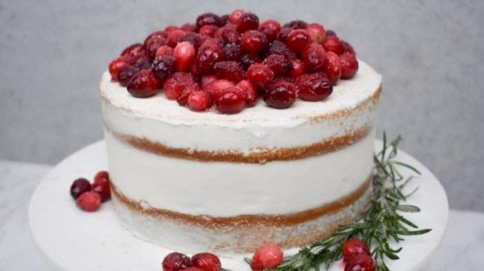 Deine Belohnung: ein glutenfreier Vanillekuchen