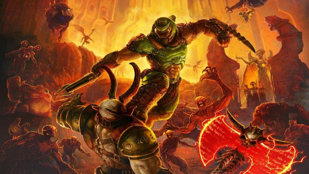 best fps games doom eternal
