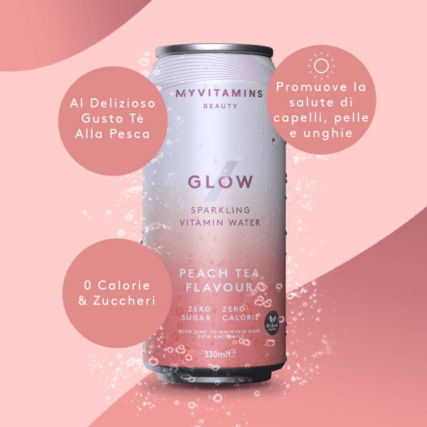 Le Nostre Bevande Vitaminiche Gassate - Glow
