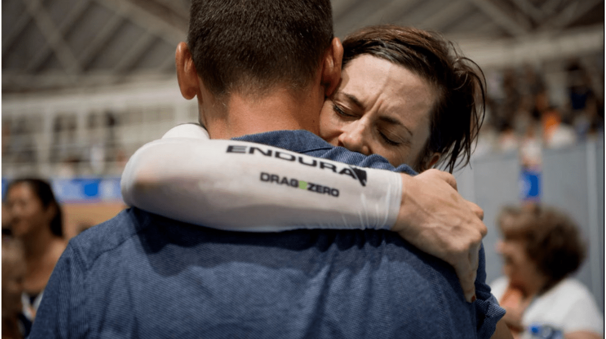 Bridie O'Donnell breaks UCI Hour Record