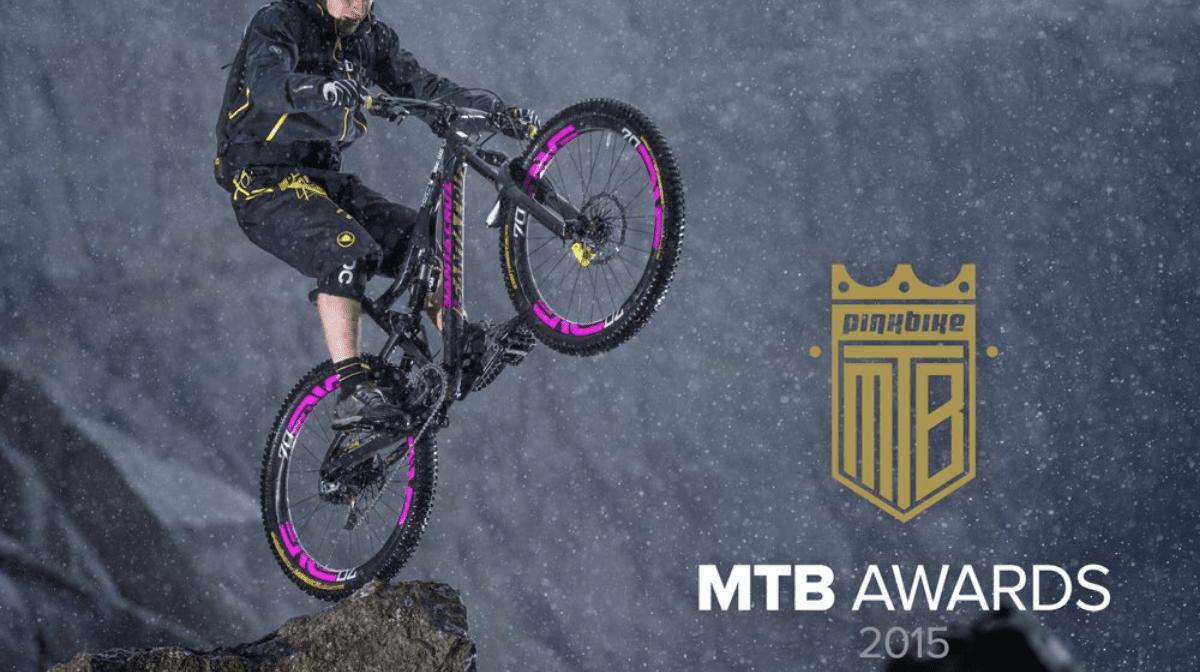 MT500 Waterpoof Jacket wins Pinkbike's Best Gear Award