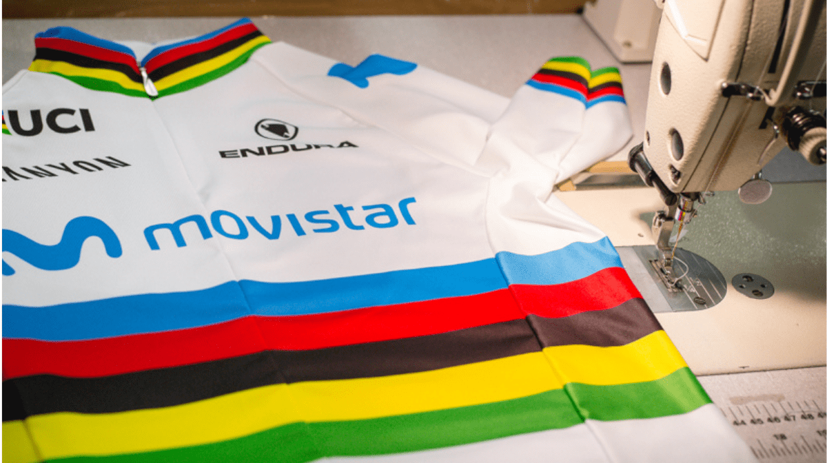 The Making Of A Rainbow Jersey