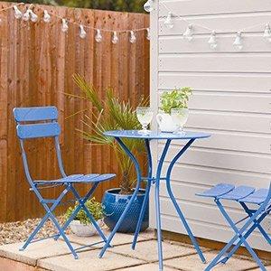 Painting garden furniture ideas