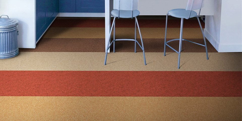 How To Lay Vinyl And Carpet Floor Tiles