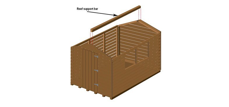 roof support bar