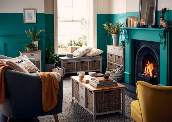 *Homeland Flora Living Room