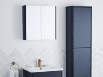 How To Hang a Bathroom Wall Cabinet