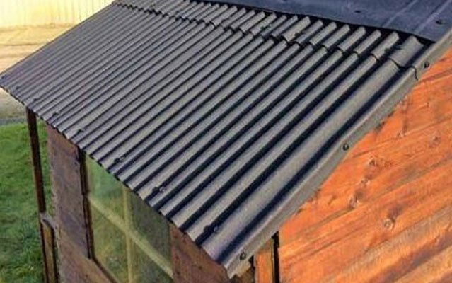 roof sheets for your garden shed