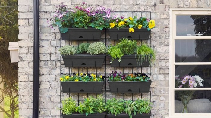 Bring Your Garden To Life With Creative Containers Vertical Planting And Hanging Baskets