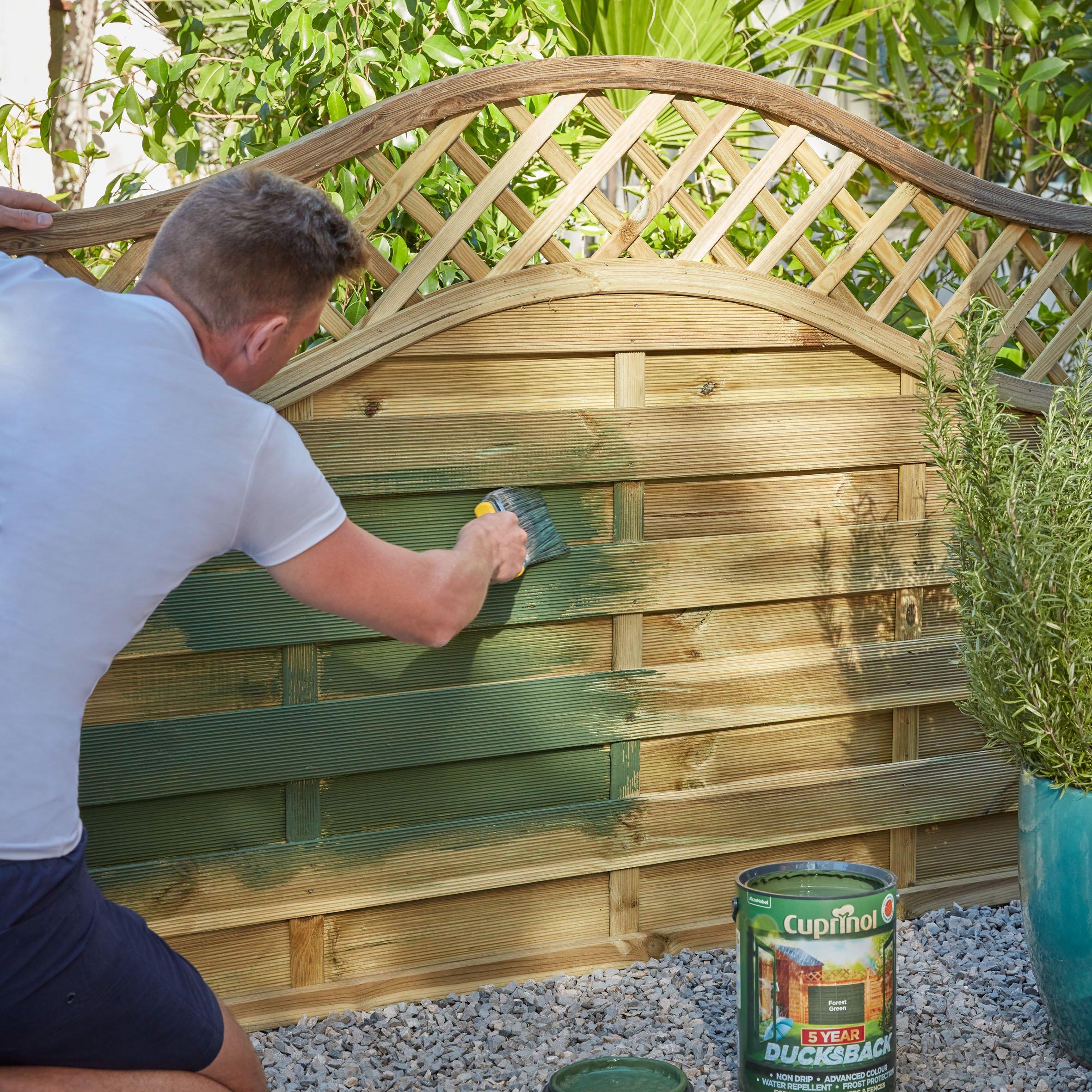 garden fence painting ideas