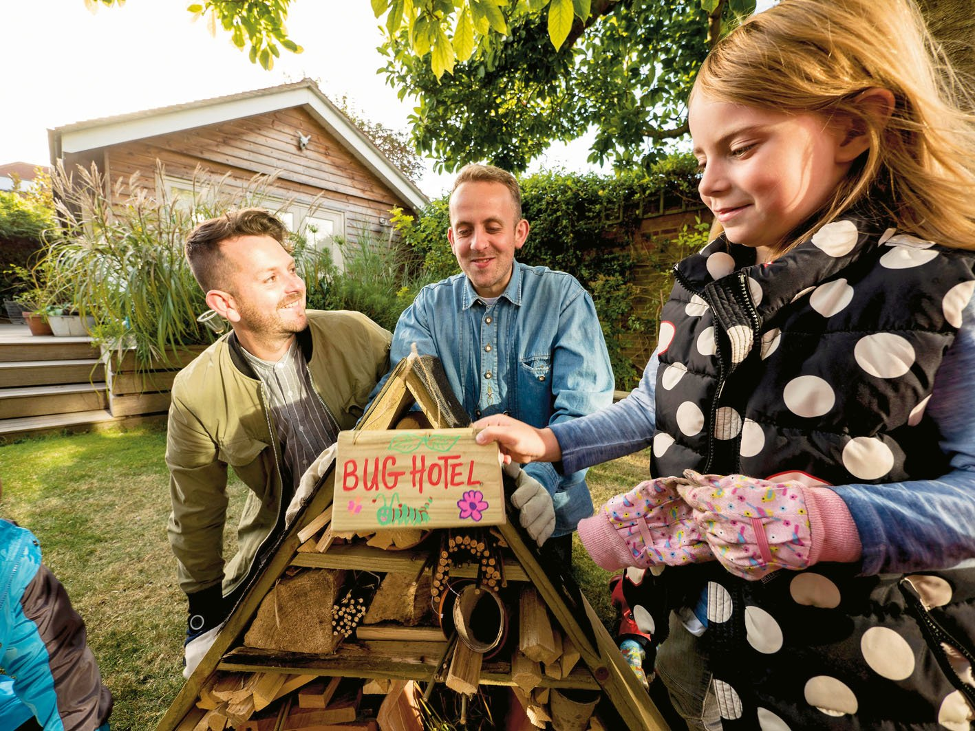 open your bug hotel