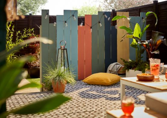 How to Build a Garden Divider