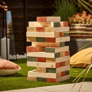 How to Make Your Own Giant Jenga