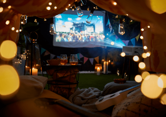 How to Make An Outdoor Home Cinema