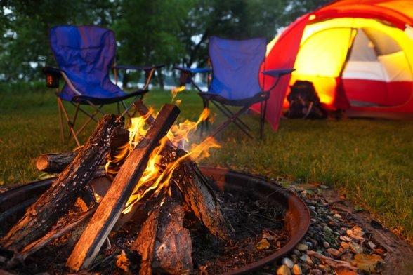 at-home camping