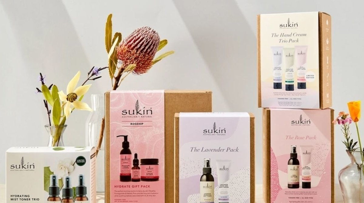 Eco-Friendly Gifting with Sukin