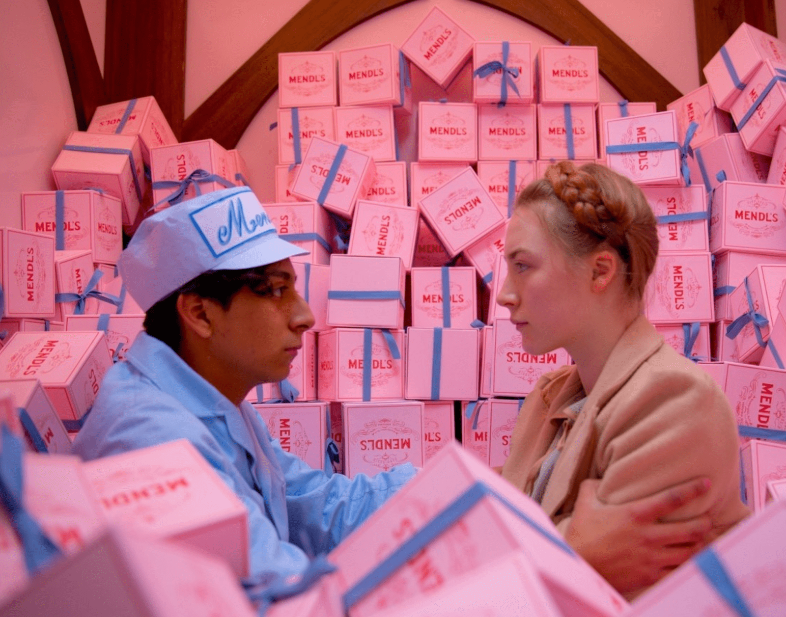 Valentine's Day the grand budapest hotel