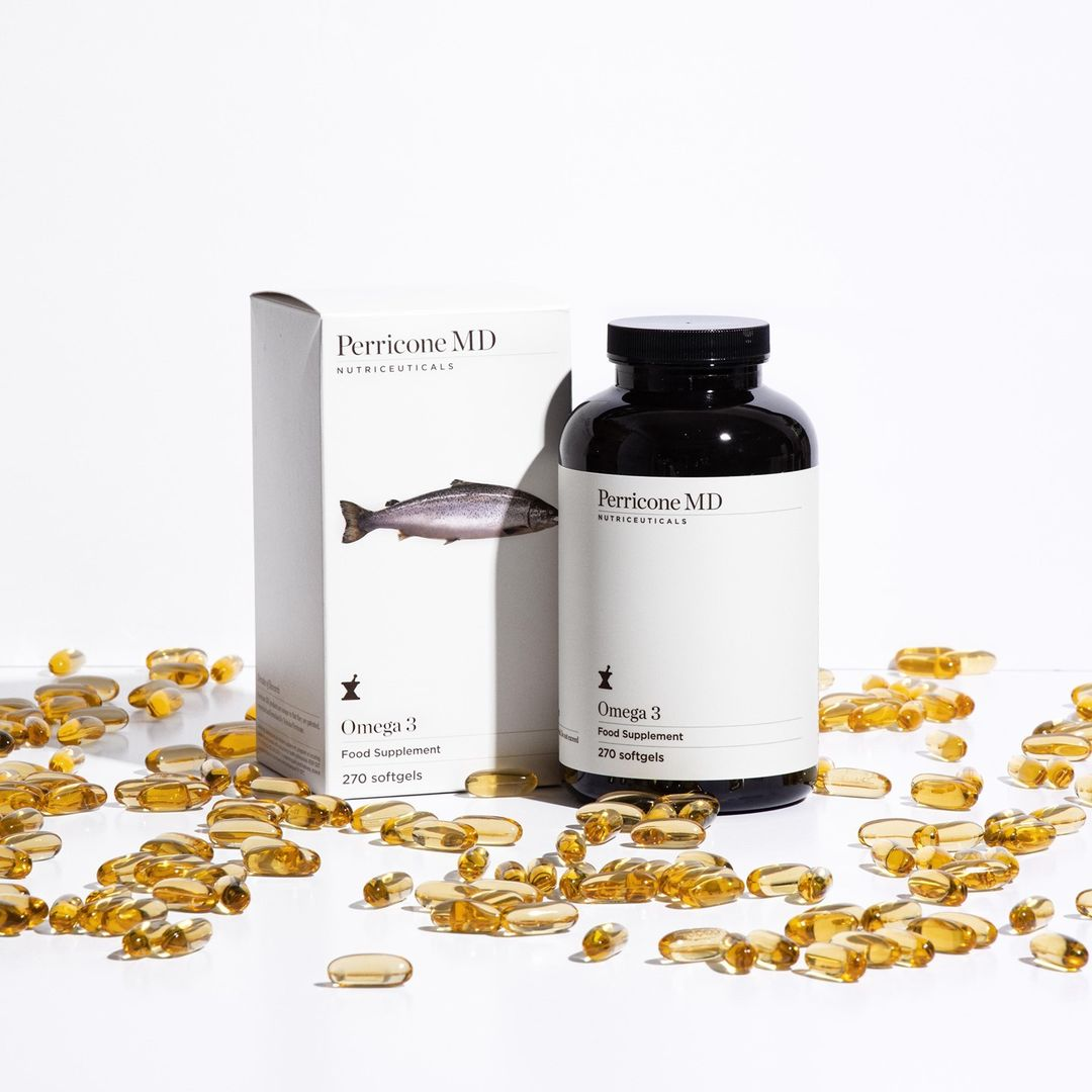 Omega 3 supplements. If you're wondering how to prevent hair loss then try these.